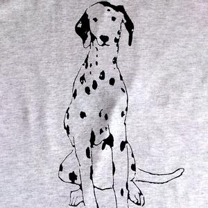 ダルメシアンのTシャツ
