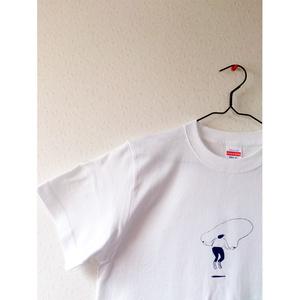 跳ぶ人 Tシャツ