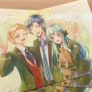 たからもの園組ポストカード(1/27REC.ingON!にて出品済)