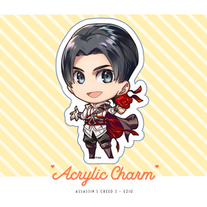 アサクリ2 アクリルキーホルダー / Acrylic Charm - Ezio