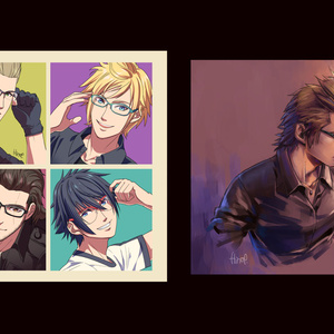 -Playlist- Web再録イラスト集 / FFXV artworks