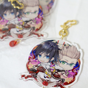 ノクトとイグニスアクキー | Acrylic Charm - Noct and Ignis in the Assassin's Festival