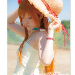 【写真集】summer side moment(エヴァ/アスカ)
