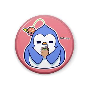 【へんて子】宇宙ペンギン A 缶バッジ
