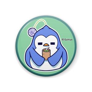 【へんて子】宇宙ペンギン B 缶バッジ
