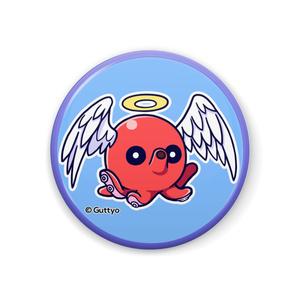 【へんて子】タコ天使 缶バッジ