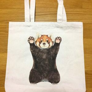レッサーパンダの威嚇バッグ