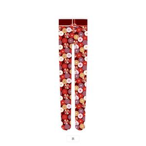 菊の和柄タイツ