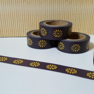 菊紋のマスキングテープ