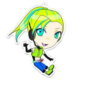 01(UTAU)キャラクターアクリルキーホルダー