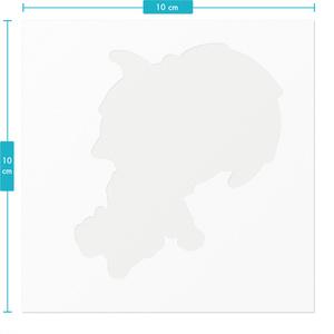 UTAUキャラクター・紙詠ヤマトステッカー