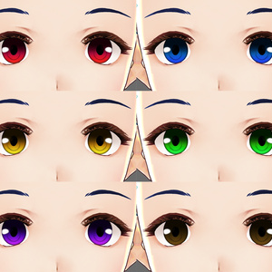 VRoid用瞳テクスチャ