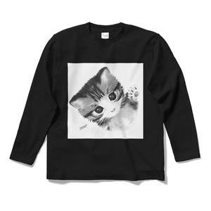 ロングスリーブTシャツ(ねこ)