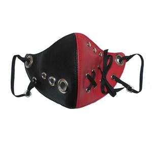 (SALE)フェイクレザーのマスク