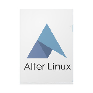 AlterLinux-クリアファイル