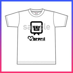 【Marpril】Tシャツ(黒ロゴver)