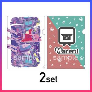 【Marpril】クリアファイルセット