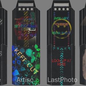 【無料】伸縮式シールドTS-REEF「暗礁」 VRC向け 3Dモデル