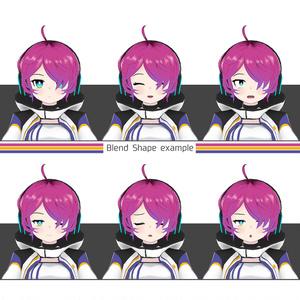 オリジナル3Dモデル【ラトナ】
