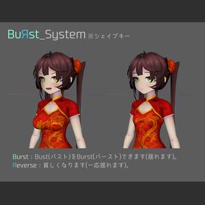 オリジナル3Dモデル【凛】