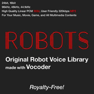 オリジナルロボット音声素材集バンドル「ROBOTS」