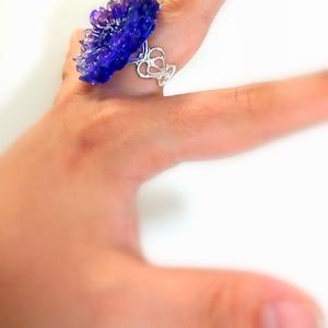 フラワーリング 紫