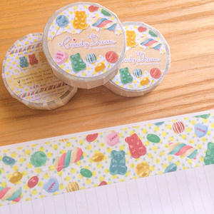 Candy Dreamマスキングテープ