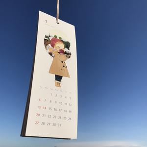 2019年カレンダー「a piece of scene」※12月初旬発送