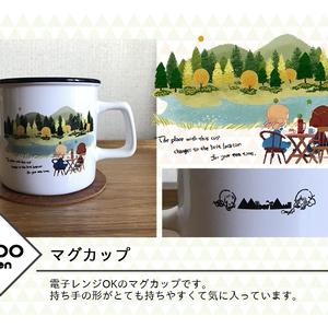 マグカップ「tea time magic」※12月初旬発送