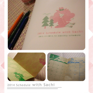 2014 schedule with Sachi