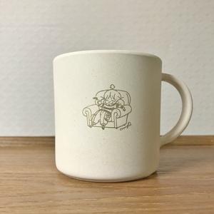 バンブーマグカップ「easy time」※12月以降発送