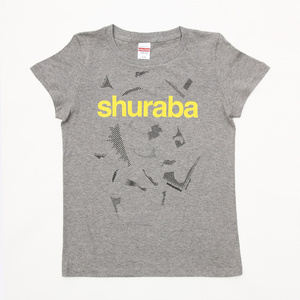 〝トーンカスまみれ〟shuraba Tシャツ(杢グレー)