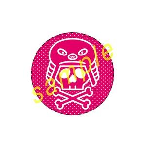 ◆カンバッチ◆フィンフェイマーク(ピンク)