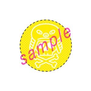 ◆カンバッチ◆フィンフェイマーク(イエロー)