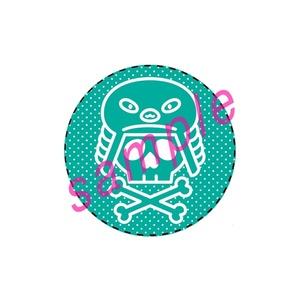 ◆カンバッチ◆フィンフェイマーク(グリーン)