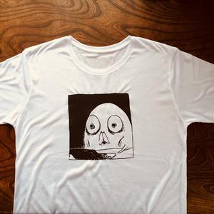 ろくろく「1ページずれてる」Tシャツ