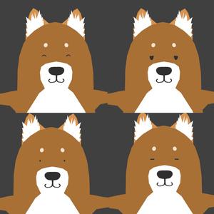 【VRChat想定】作画カロリーが低そうな柴犬