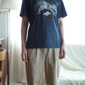 Tシャツ/РЫБА(青)