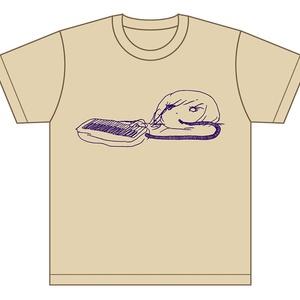 Tシャツ/ピアニカ (ベージュ)