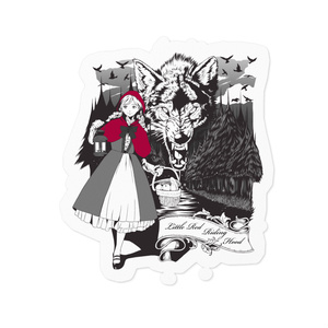 Little Red Riding Hood ステッカー