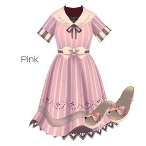 Saku*saku セーラーリボンコーデセット/Sailor Ribbon Coordinate Set