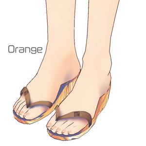 マーブルビーチサンダル/Marble beach sandals