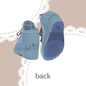 Saku*saku レースアップシューズ/lace up shoes
