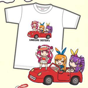 UMEGIRIcarTシャツ