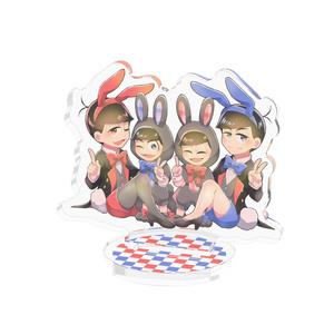 ウサギ&バニー長兄アクリルフィギュア