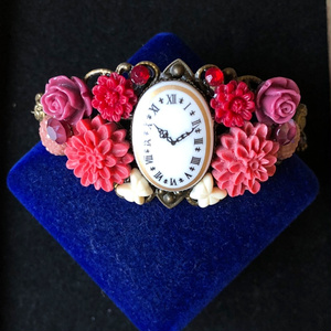 花時計のブレスレット(リング付き)