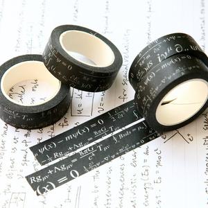 方程式マスキングテープ(黒)
