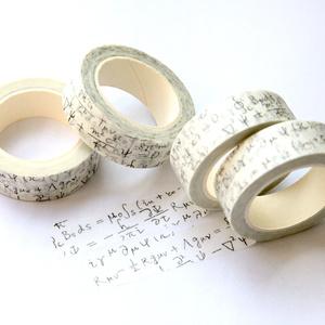 方程式マスキングテープ(白)