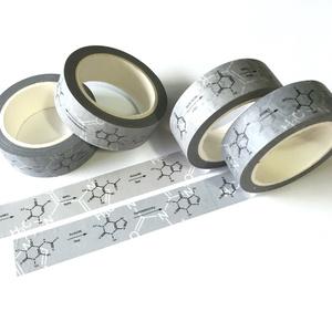 構造式マスキングテープ(カフェイン合成経路)