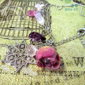 Natural Rose ~薔薇とクォーツ~